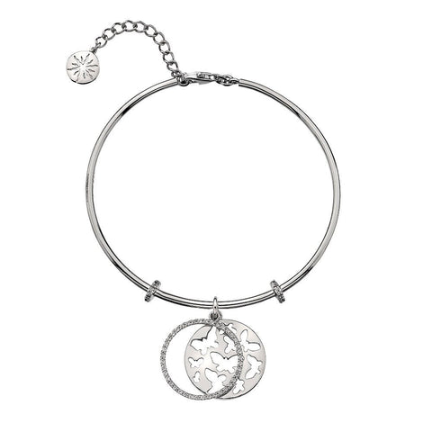 Virtue Keepsake Bangle - Butterflies from the Bangles collection at Argenteus Jewellery