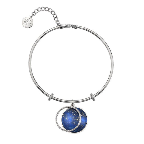 Virtue Keepsake Bangle - Lapis Lazuli from the Bangles collection at Argenteus Jewellery