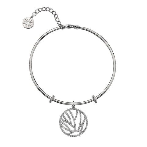 Virtue Keepsake Bangle - Crystal Lines from the Bangles collection at Argenteus Jewellery