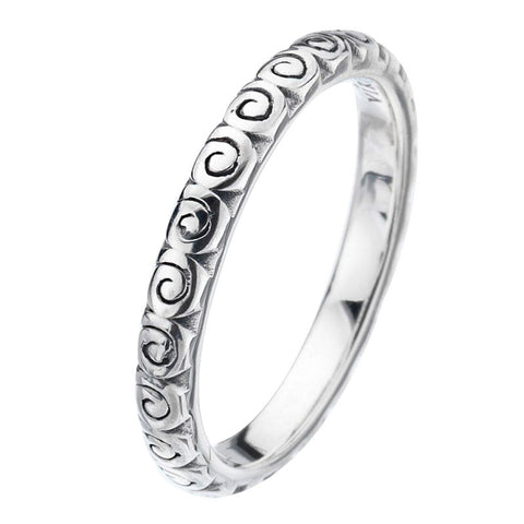 Virtue London Ring - Swirl from the Rings collection at Argenteus Jewellery