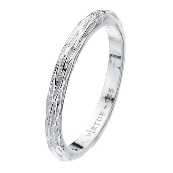 Virtue London Ring - Willow from the Rings collection at Argenteus Jewellery