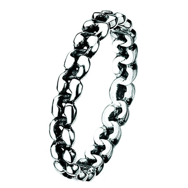 Virtue London Ring - Braid from the Rings collection at Argenteus Jewellery