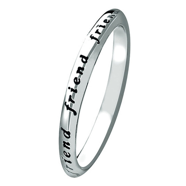 Virtue London Ring - 'Friend' from the Rings collection at Argenteus Jewellery