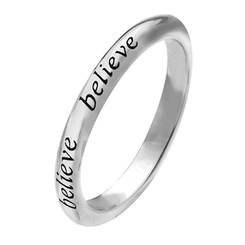 Virtue London Ring - 'Believe'