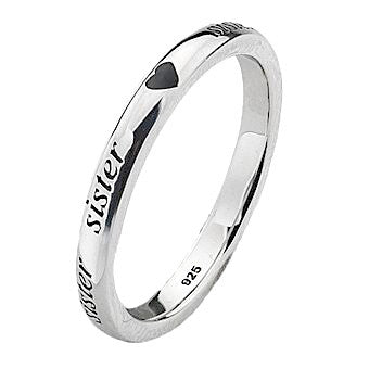 Virtue London Ring - 'Sister' from the Rings collection at Argenteus Jewellery