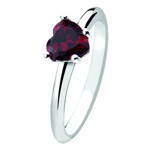 Virtue London Ring - Queen of Hearts from the Rings collection at Argenteus Jewellery