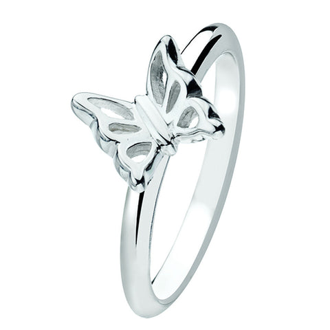 Virtue London Ring - Papillon Butterfly from the Rings collection at Argenteus Jewellery