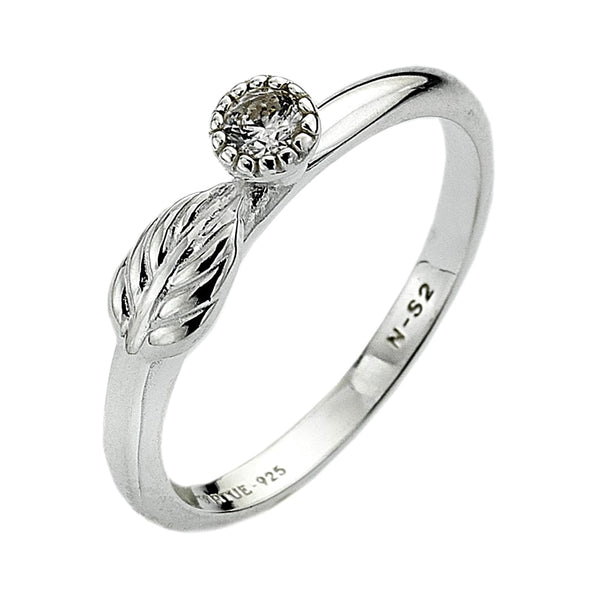Virtue London Ring - Dew Drop from the Rings collection at Argenteus Jewellery