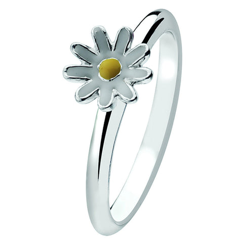 Virtue London Ring - White Daisy