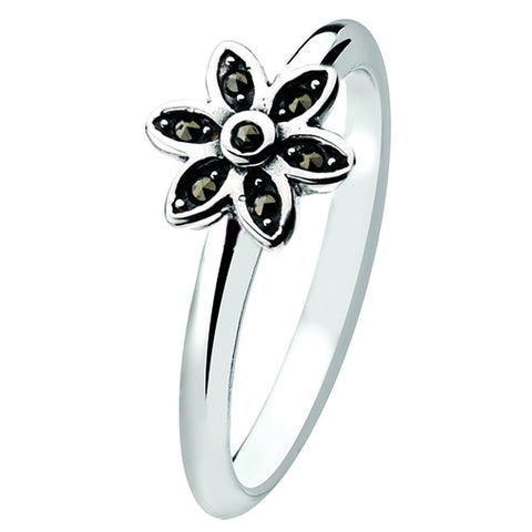 Virtue London Ring - Starflower from the Rings collection at Argenteus Jewellery