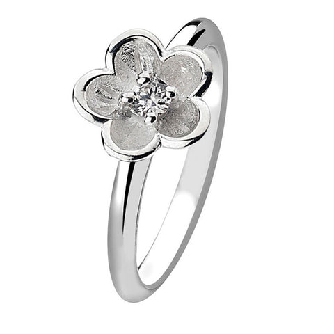 Virtue London Ring - Lotus Flower from the Rings collection at Argenteus Jewellery