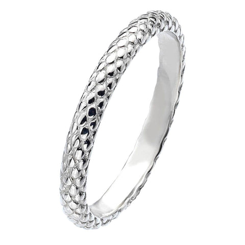 Virtue London Ring - Pine Cone Silver from the Rings collection at Argenteus Jewellery