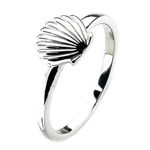 Virtue London Ring - Shell from the Rings collection at Argenteus Jewellery