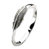 Virtue London Ring - Flight Feather from the Rings collection at Argenteus Jewellery