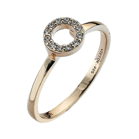 Virtue London Ring - Always Rose Gold Plate from the Rings collection at Argenteus Jewellery