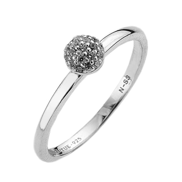 Virtue London Ring - Wishes Cubic Zirconia from the Rings collection at Argenteus Jewellery