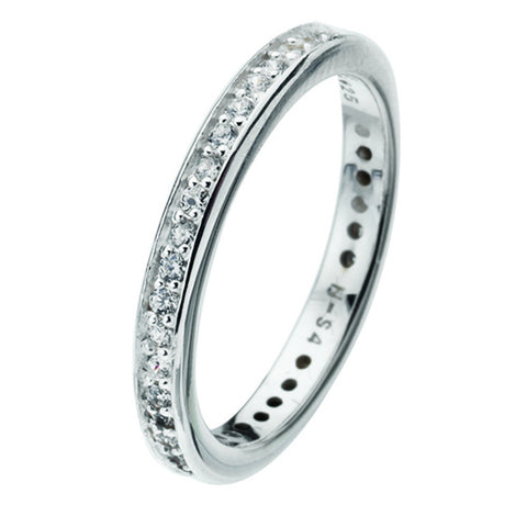 Virtue London Ring - Forever Cubic Zirconia from the Rings collection at Argenteus Jewellery