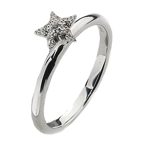 Virtue London Ring - Astra Star from the Rings collection at Argenteus Jewellery