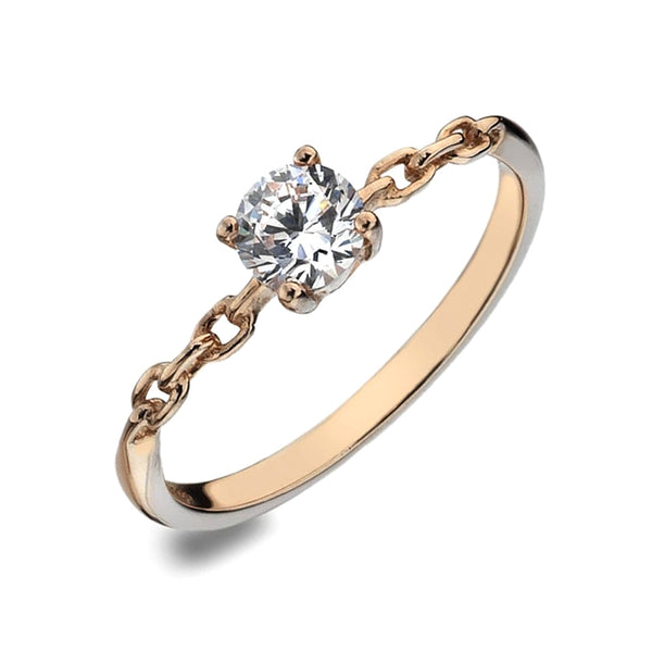 Virtue London Ring - Eternal Rose Gold from the Rings collection at Argenteus Jewellery