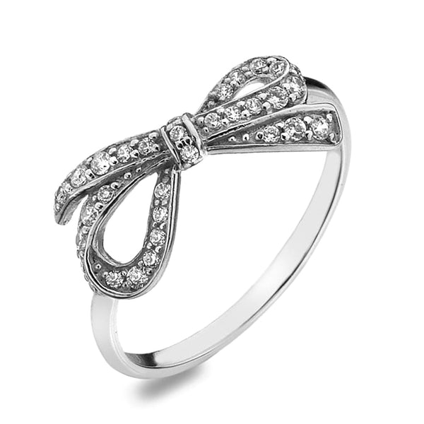 Virtue London Ring - Ribbon from the Rings collection at Argenteus Jewellery