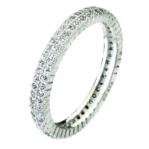 Virtue London Ring - Solar Two Strand from the Rings collection at Argenteus Jewellery