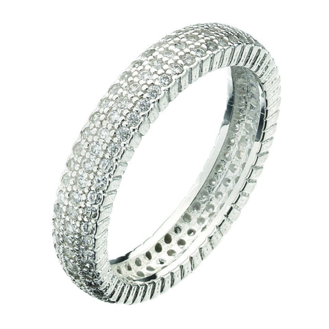 Virtue London Ring - Solar Three Strand from the Rings collection at Argenteus Jewellery