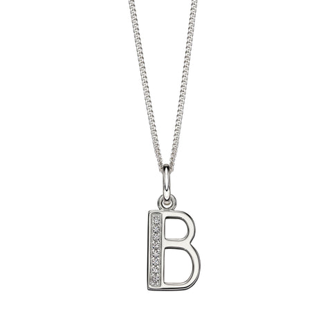 Alphabet Necklace - B