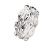 Virtue London Ring - Faith Amethyst Cubic Zirconia from the Rings collection at Argenteus Jewellery