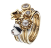 Virtue London Ring - Be Mine Heart from the Rings collection at Argenteus Jewellery