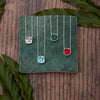Imperial Emerald Green - Earrings from the Earrings collection at Argenteus Jewellery