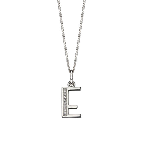 Alphabet Necklace - E