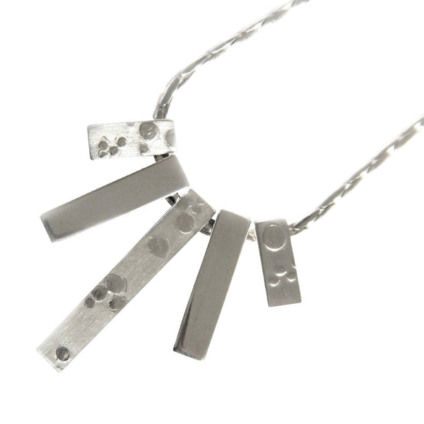 Bubbles sunray necklace from the Necklaces collection at Argenteus Jewellery