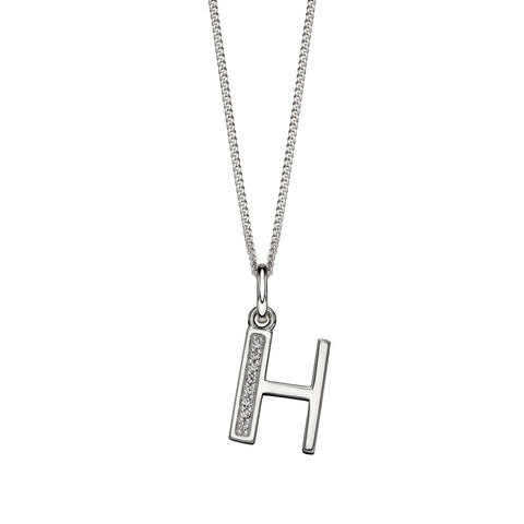 Alphabet Necklace - H