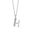 Alphabet Necklace - H from the Necklaces collection at Argenteus Jewellery