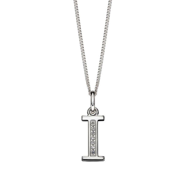 Alphabet Necklace - I from the Necklaces collection at Argenteus Jewellery