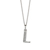 Alphabet Necklace - L from the Necklaces collection at Argenteus Jewellery