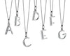 Alphabet Necklace - O from the Necklaces collection at Argenteus Jewellery