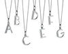 Alphabet Necklace - B from the Necklaces collection at Argenteus Jewellery
