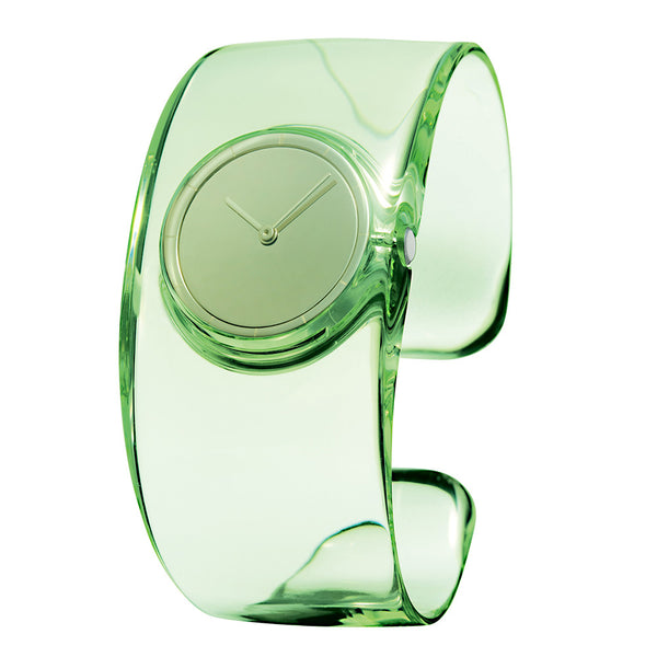 Issey Miyake 'O' Collection Pale Green Watch from the Watches collection at Argenteus Jewellery