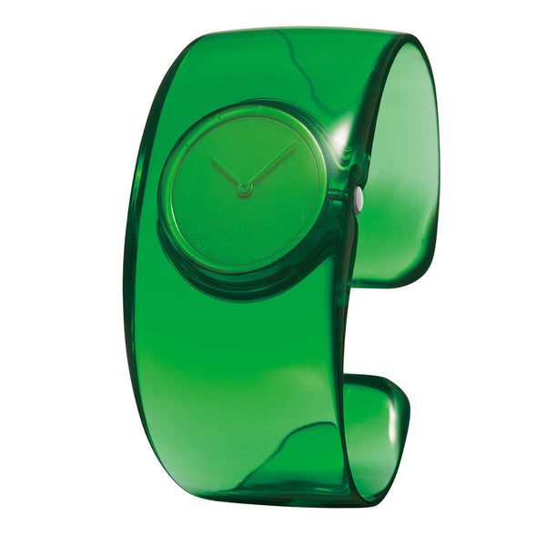 Issey Miyake 'O' Collection Dark Green Watch from the Watches collection at Argenteus Jewellery
