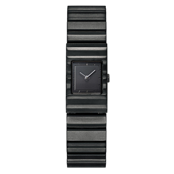 Issey Miyake Black Stainless Steel 'V' Collection Watch from the Watches collection at Argenteus Jewellery