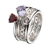 Virtue London Ring - Hugs & Kisses from the Rings collection at Argenteus Jewellery