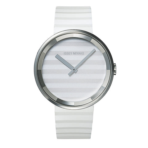 Issey Miyake 'PLEASE' Collection Watch White and Grey from the Watches collection at Argenteus Jewellery
