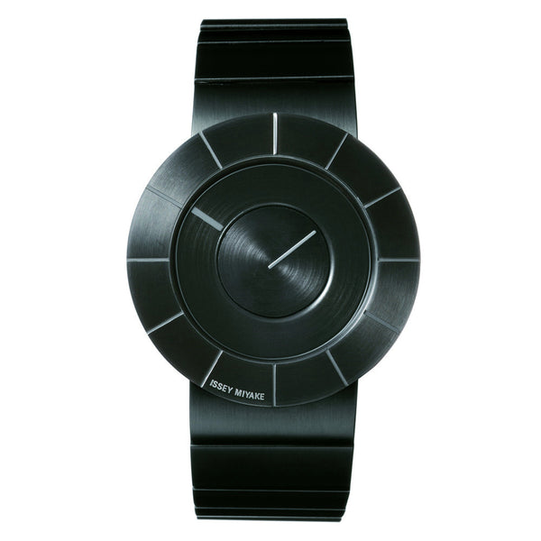 Issey Miyake Black Stainless Steel 'TO' Collection Watch from the Watches collection at Argenteus Jewellery