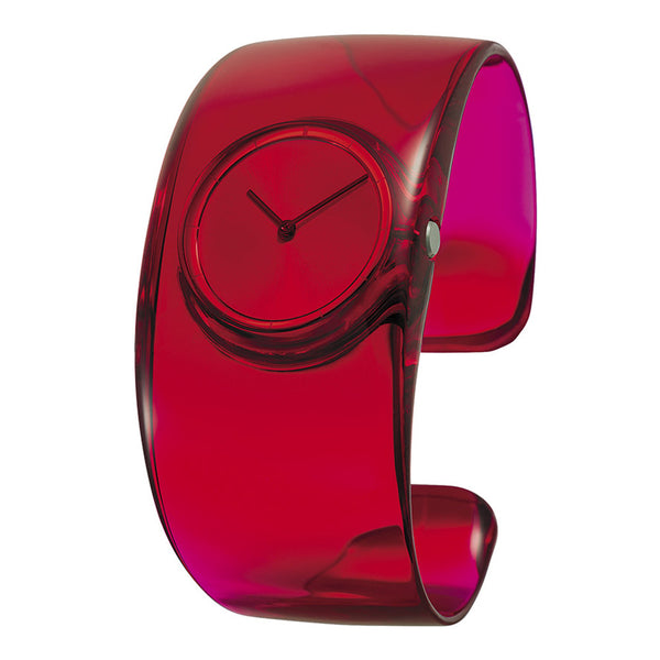 Issey Miyake 'O' Collection Red Watch from the Watches collection at Argenteus Jewellery