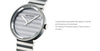Issey Miyake 'PLEASE' Collection Watch White Stripe from the Watches collection at Argenteus Jewellery