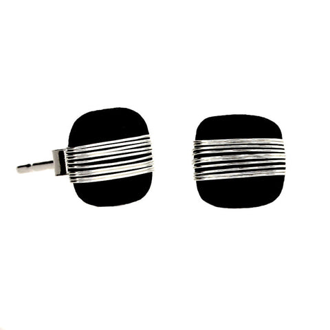 Tracey Birchwood - 7mm Square Stud Earrings from the Earrings collection at Argenteus Jewellery