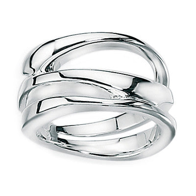 Sculpture Open Band Ring from the Rings collection at Argenteus Jewellery