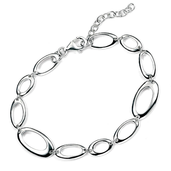 Random Ovals Bracelet from the Bracelets collection at Argenteus Jewellery