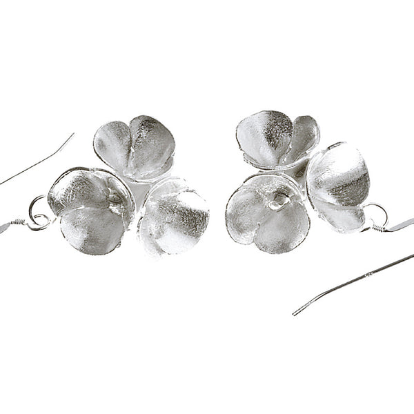 Blossoms drop earrings from the Earrings collection at Argenteus Jewellery